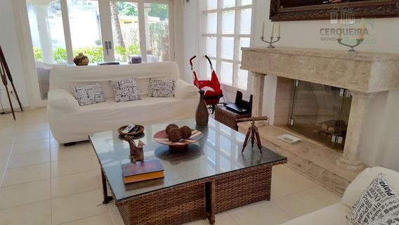 Casa Com 5 Dormitórios À Venda, 410 M² - Acapulco - Guarujá/sp - Ca0313
