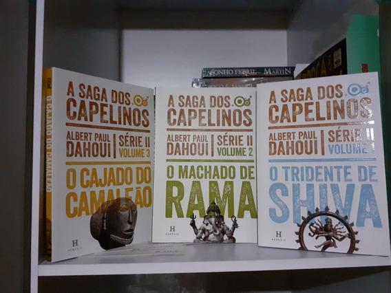 Três Primeiros Volumes Da Série 2 De A Saga Dos Capelinos