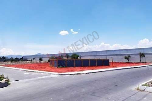 Renta De Terreno En Santa María Magdalena. Muy Buena Ubicación Dentro De Zona Industrial