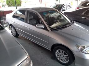 Civic Lxl 2005 Cara Nova/prata/automatico/super Novo