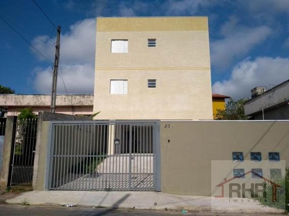 Apartamento Para Venda Em Mogi Das Cruzes, Jardim Santos Dumont I, 2 Dormitórios, 1 Banheiro, 1 Vaga - 563_1-1377700