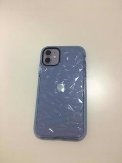 Casé iPhone 11 Transparente Celeste