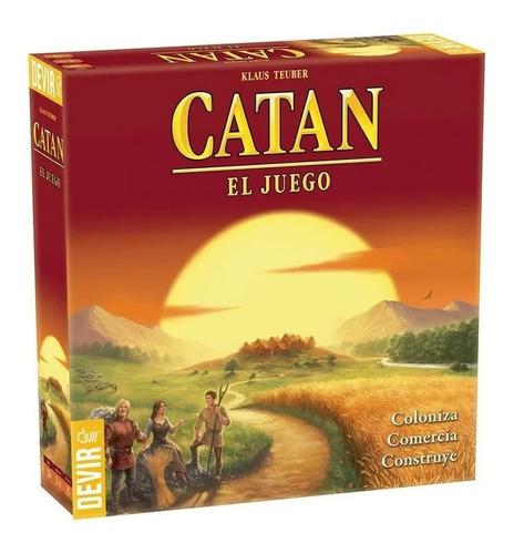 Catan Original Devir - Juego De Mesa - Invictvs