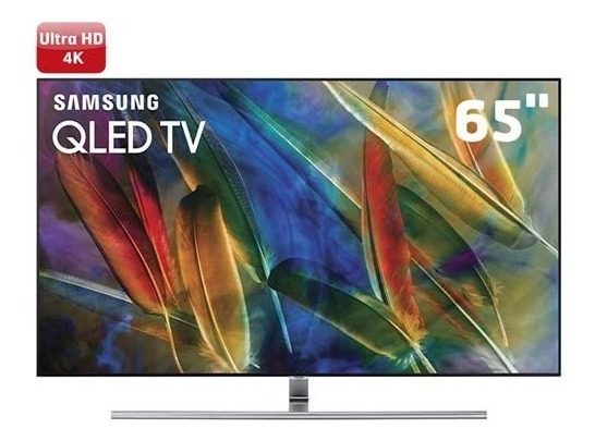 Smart Tv Qled 4k Samsung Qn65q7famgxzd Wi-fi, Hdr 1500