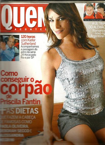 Revista Quem 357/2007 - Fantn/paolla/ana Paula Arósio;sacha