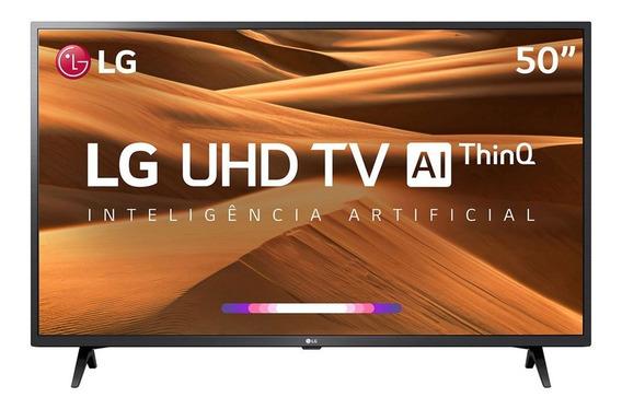 Tv 50 Polegadas Lg Led Smart 4k Usb Hdmi Comando De Voz