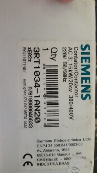 Contactor Simens