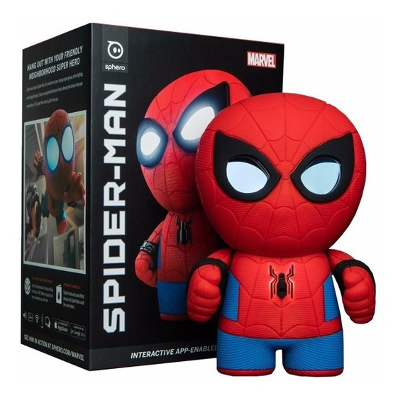 Robot Sphero Personaje Spider Man Marvel Control Ios Android