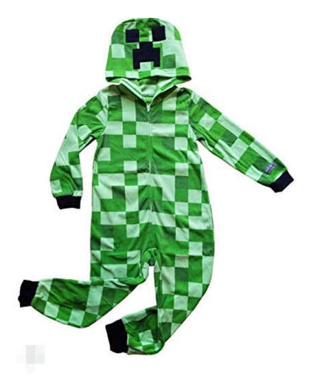 Pijama Minecraft Para Niño