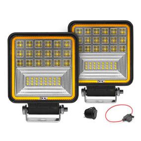 Farol Para Trator Maquina Agrícola Iluminação Led 126w Par