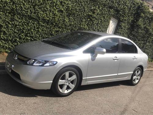Imagem 1 de 5 de Honda Civic 2008 1.8 Lxs Flex Aut. 4p