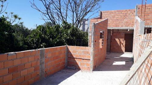 Cobertura Com 2 Dormitórios À Venda, 110 M² Por R$ 320.000 - Paraíso - Santo André/sp - Co4606