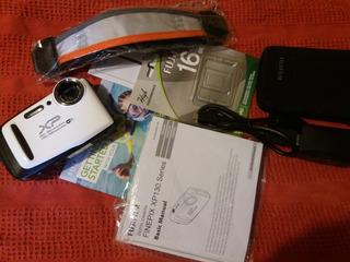 Camara Fujifilm Sumergible Hasta 20 M. Nueva En Su Caja