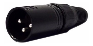 Conector Ficha Canon Xlr Macho 3 Pines Sonido Xpro Cxp-x3m