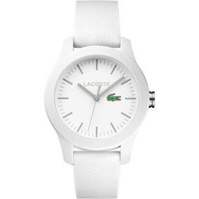 Relógio Lacoste Branco Unissex C/ Nota E Garantia Até 7/20