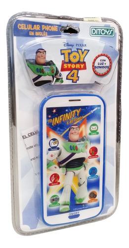 Imagen 1 de 2 de Celular Musical 3d Toy Story 2256 (4168)
