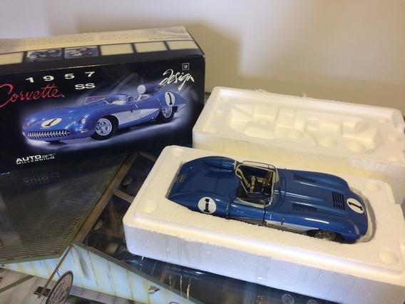 Corvette Ss 1957 Autoart 1/18. N Cmc, Gmp, Ertl, Kyosho