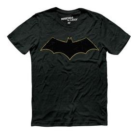 Playera Batman Rebirth Logo Mascara De Latex