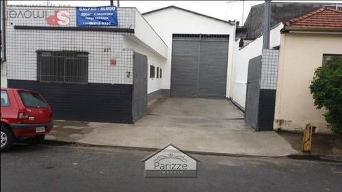 Imagem 1 de 1 de Galpão Na Vila Maria - 3685-1