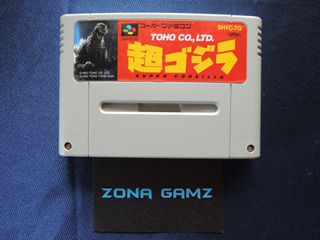 Super Godzilla Super Famicom Sfc Zonagamz