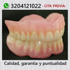 Prótesis Dentales Removibles, Acrilico, Flexibles, Cajas