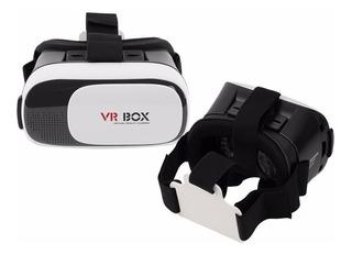 Lentes Gafas Realidad Virtual 3d Vr Box + Control Bluetooth