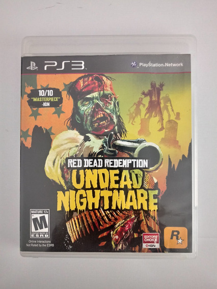 Red Dead Redemption Undead Nightmare Ps3 Física
