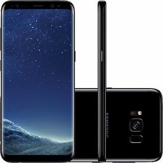 Samsung Galaxy S8 Dual Chip Preto Com 64gb, Tela 5.8