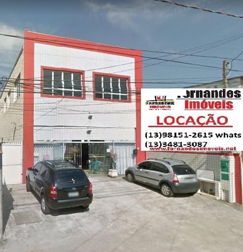 Prédio Comercial Para Locação Definitiva No Bairro Boqueirão Em Praia Grande. - Pr0001