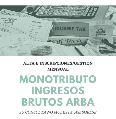 Monotributo E Ingresos Brutos Arba - Altas/gestiones