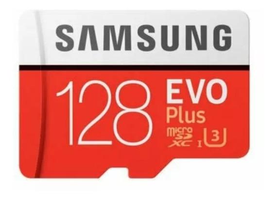 Cartão Memória Evo Plus Sansung 128gb Original Class 10 4k