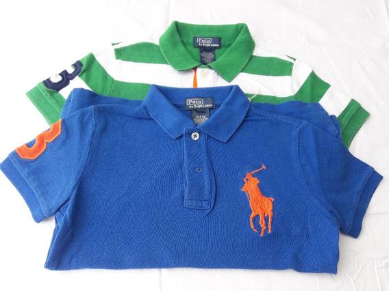Camiseta Polo Polo Play (lote 2 Peças) Tam 5