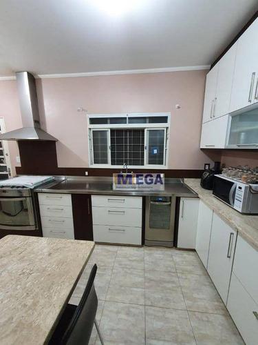 Casa Com 3 Dormitórios À Venda, 200 M² Por R$ 590.000 - Bosque De Barão Geraldo - Campinas/sp - Ca2262