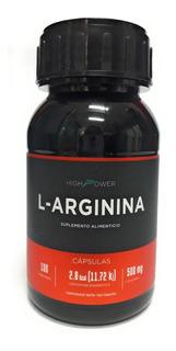L-arginina Arginina 500 Mgs 100 Capsulas High Power