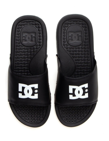 Chinelo Slide Dc Shoes Bolsa Men La Preto 11147 Original