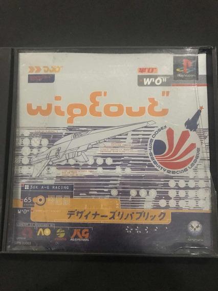 Wipeout Para Ps1 Japonês Original Na Caixa