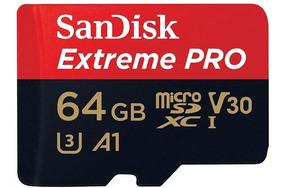 Sandisk Cartão Extreme Pro Micro Sdxc 100mb/s 64gb Original