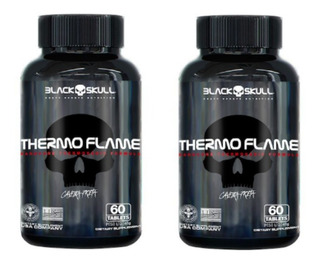 2x Thermo Flame 60 Tabs - Black Skull