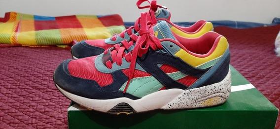 Zapatillas Puma R698 Block Mujer