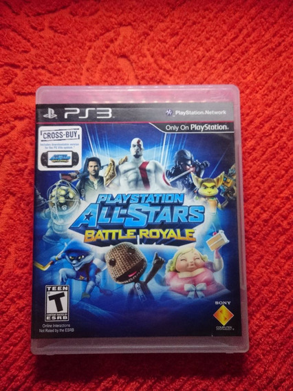 Playstation All-stars Battle Royale Ps3 Frete R$10