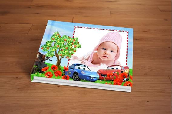Álbum Fotográfico Carros Big Square 30x30 20 Páginas