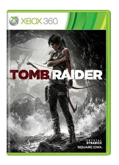 Jogo Tomb Raider Xbox 360 Original Mídia Física Em Português