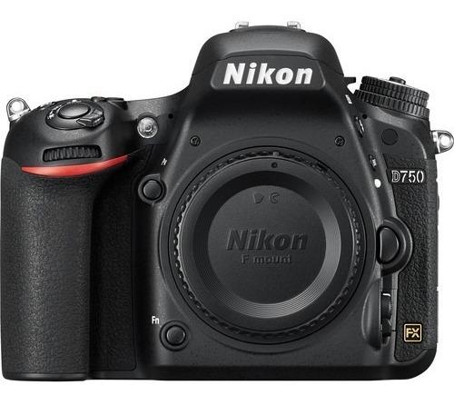 Câmera Nikon Dslr D750 Corpo