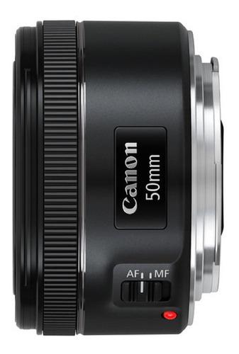Lente Canon Ef 50mm F/1.8 Stm Garantia Novo