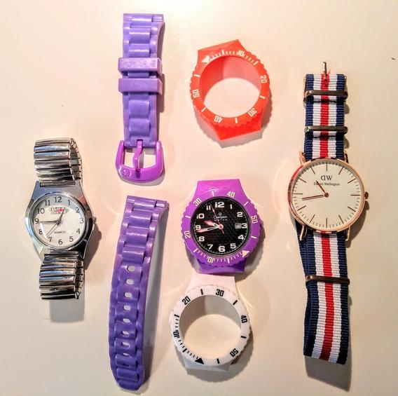 Lote Coleção Lindos Relógios Esportivos Champion Chilli Bean