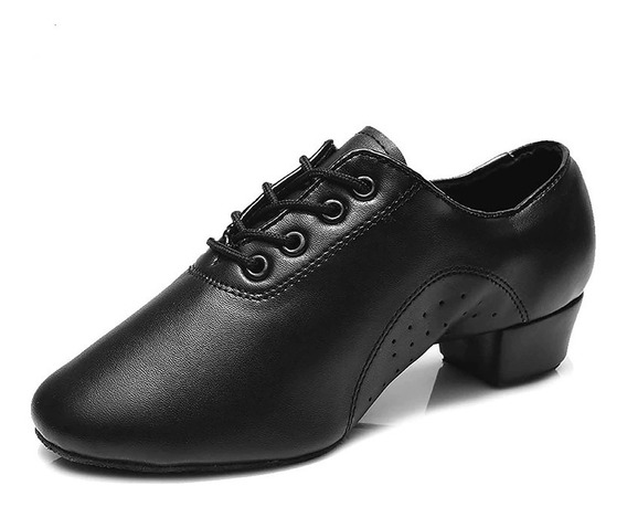 Zapato De Baile Para Hombre Basico, Salsa, Bachata, Cumbia