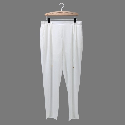 Pantalone Capris Dama Elastico Casual Solido Conmutan 0gn4