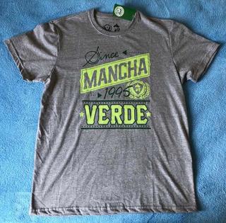 Camisa Em Malha Da Escola De Samba Mancha Verde Modelo 4