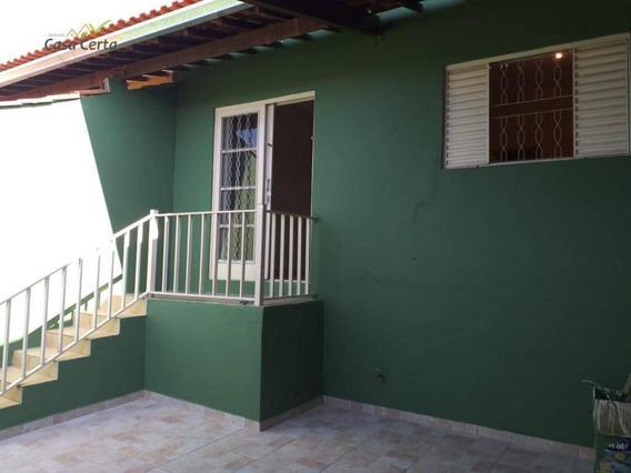 Casa Com 2 Dormitórios Para Alugar, 70 M² Por R$ 850/mês - Jardim Itacolomi - Mogi Guaçu/sp - Ca1470