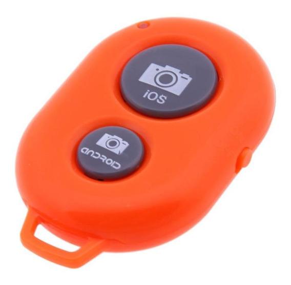 Bluetooth Controle Remoto Câmera Botão De Disparo Sem Fio